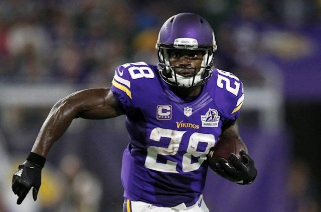 Adrian Peterson has listed the Giants among the teams he'd like to play for if he gets cut. (AP)