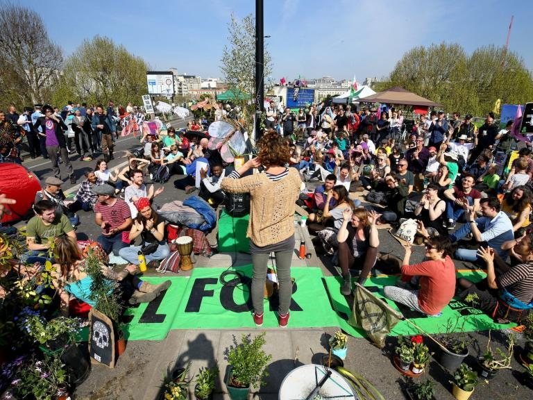 How Extinction Rebellion protesters reclaimed the streets – and injected fresh energy into the climate movement