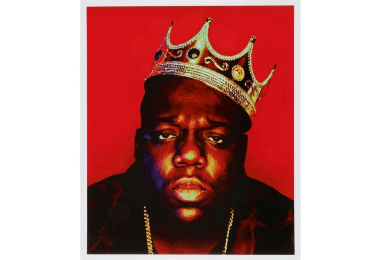 Barron Claiborne's iconic image 'Notorious B.I.G. as the K.O.N.Y (King of New York)'