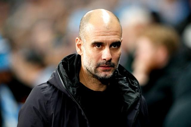 Guardiola believes his side have a once-in-a-lifetime opportunity