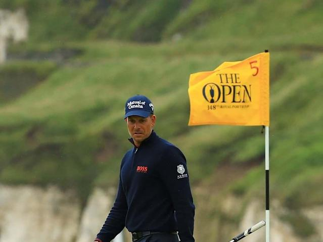 Henrik Stenson snapped his club in frustration after a shank at The Open. The Swede reacted furiously when the ball viciously took off right of his target on the 17th hole in the final major of the year at Royal Portrush.Faced with 143 yards to the hole and smack, bang in the middle of the fairway, Stenson was incredulous at his error. After breaking the club in two, he brought the two pieces back behind his neck, contemplating his next shot. He would eventually make bogey, taking him back to -2 for the tournament in a tie for 17th place.The reaction sparked endearment from fans, who could relate to his blunder. It also brought back memories of Patrick Reed's own club snap at the US Open at Pebble Beach last month when he duffed a chip from just off the green, failing to advance it on to the putting surface.> A shank from Henrik Stenson and a broken iron over the leg. pic.twitter.com/qEQd7PXYmw> > — By The Flagstick (@ByTheFlagstick) > > July 21, 2019Shane Lowry continues to lead The Open, five shots clear of Tommy Fleetwood as the Irishman looks to delight the home fans at Royal Portrush.