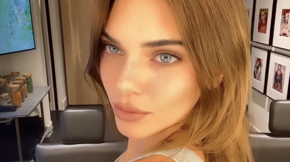 Kendall Jenner Dyed Her Hair Blonde & Looks Like a Totally Different Person