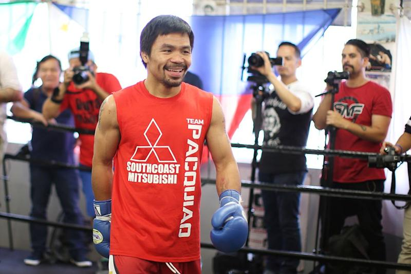 Pacquiao wants to knock off Adrien Broner