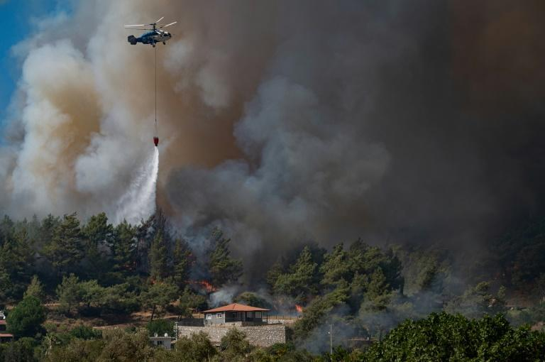 These are Turkey's most destructive wildfires in generations