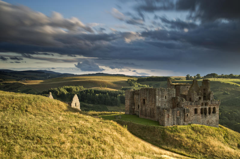 The ruins of Crichton Castle, Scotland (Getty Images)