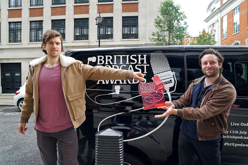 Photo credit: British Podcast Awards - Getty Images