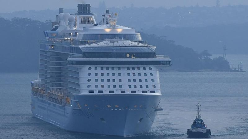 All five new coronavirus cases in Tasmania were from people who were on Ovation of the Seas