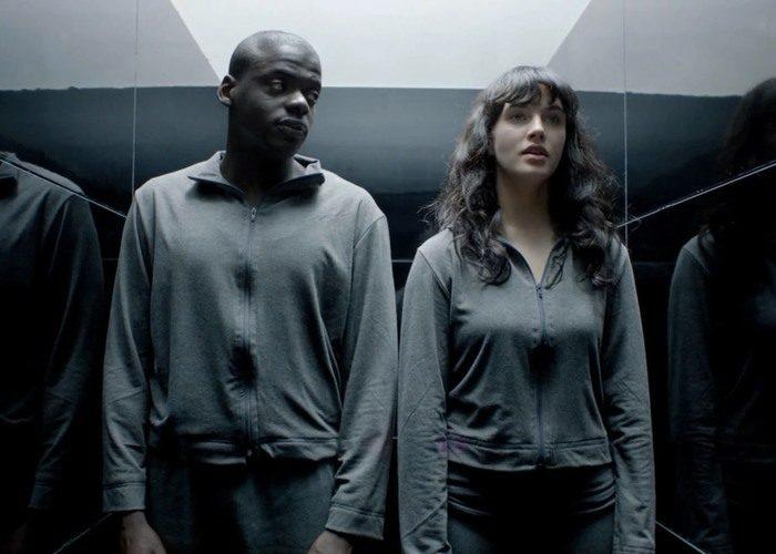 Daniel Kaluuya and Jessica Brown Findlay in Black Mirror (Credit: C4)