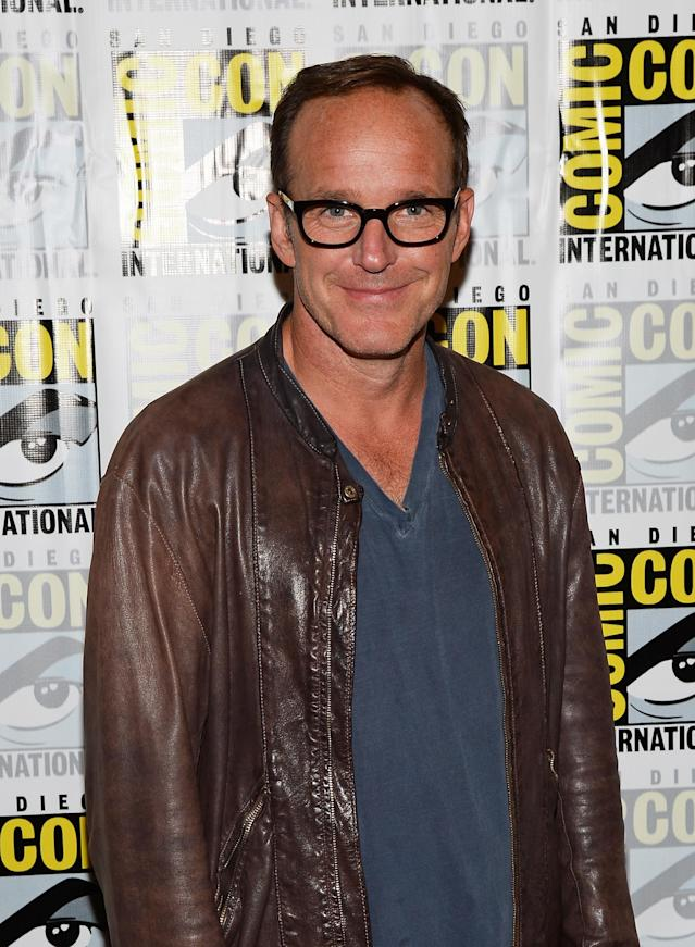 "Clark Gregg attends ""Marvel's Agents Of S.H.I.E.L.D."" Press Line during Comic-Con International 2013 at Hilton San Diego Bayfront Hotel on July 19, 2013 in San Diego, California."