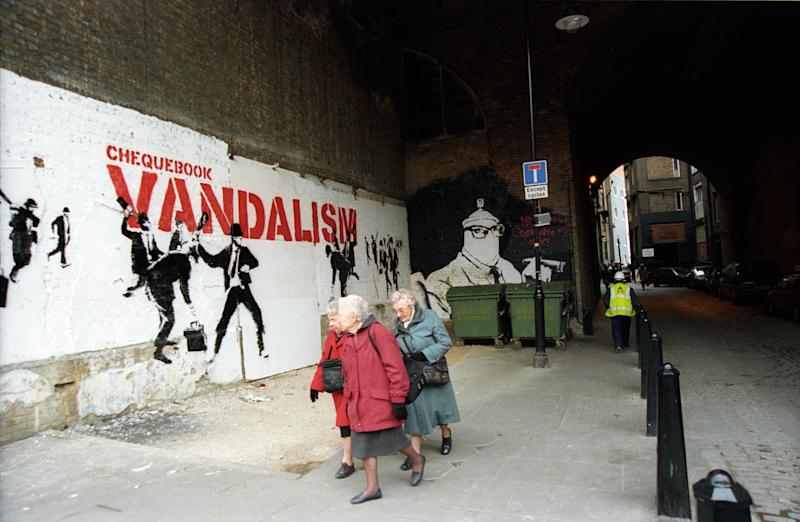 Banksy (Photo: Steve Lazarides)