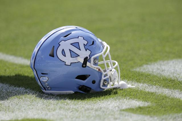 North Carolina responded to the NCAA's third notice of allegations. (AP Photo/Gerry Broome)
