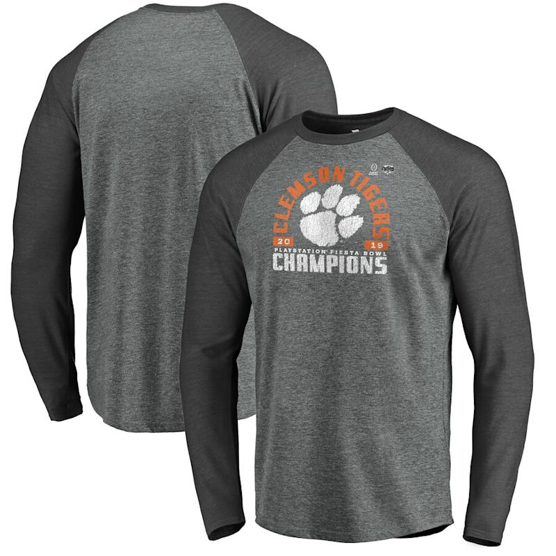 Clemson 2019 Fiesta Bowl Champions Long Sleeve T-Shirt