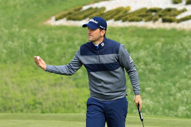 """<div class=""""caption""""> Wiesberger earned his fifth career European Tour title and became the 50th player on the European Tour to win more than €50 million. </div> <cite class=""""credit"""">Andrew Redington/Getty Images</cite>"""