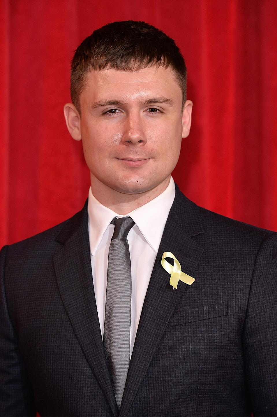 MANCHESTER, ENGLAND - JUNE 03:  Danny-Boy Hatchard attends The British Soap Awards at The Lowry Theatre on June 3, 2017 in Manchester, England. The Soap Awards will be aired on June 6 on ITV at 8pm.  (Photo by Jeff Spicer/Getty Images)