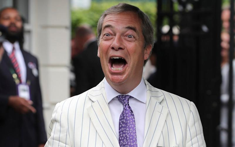Nigel Farage: to blame for the name's decline in popularity? - Copyright ©Heathcliff O'Malley , All Rights Reserved, not to be published in any format without p