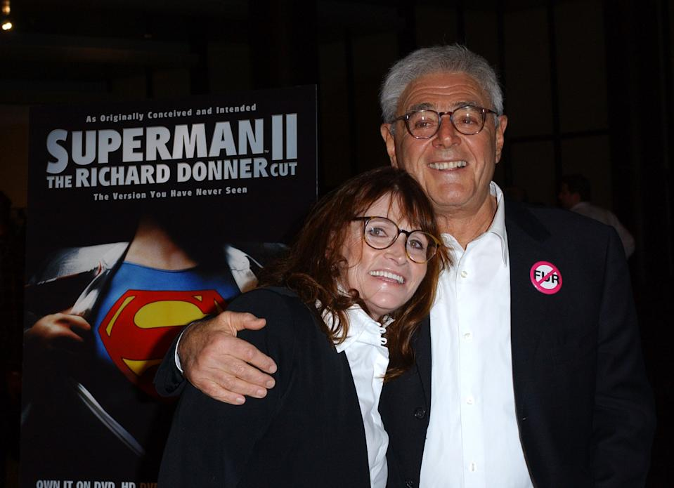 Margot Kidder and Richard Donner at the The Director's Guild Theater in West Hollywood, CA (Photo by Albert L. Ortega/WireImage)