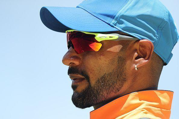 Shikhar Dhawan still hasn't recovered after injuring his shoulder during the ODI series against Australia.