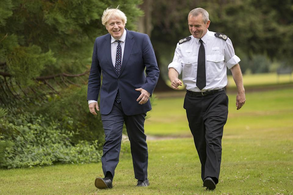 Police Scotland Chief Constable Iain Livingstone welcomed confirmation from Prime Minister Boris Johnson that the UK Government will full cover the cost of policing the Cop26 climate summit in Glasgow in November (James Glossop/The Times/PA) (PA Wire)