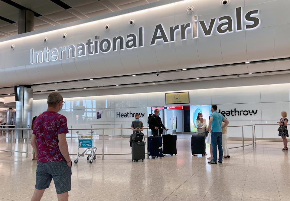 People in Terminal 2 arrivals at London Heathrow, Airport Operators Association (AOA) chief executive Karen Dee said she has not received any details yet about a mandatory 14-day quarantine for all travellers into the UK.