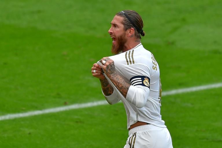 Sergio Ramos scored another penalty as Real Madrid prevailed over Athletic Bilbao on Sunday