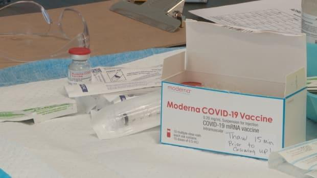 Lennox Island residents will get two shots of the Moderna vaccine.
