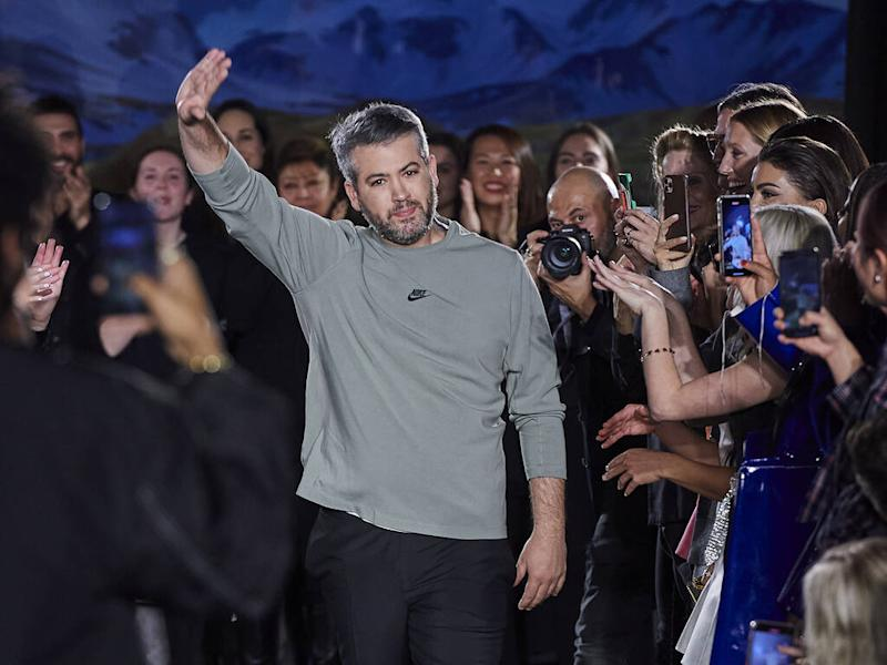 Brandon Maxwell used to avoid watching his own runway shows
