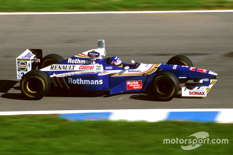 "1997: Williams-Renault FW19<span class=""copyright"">LAT Images</span>"