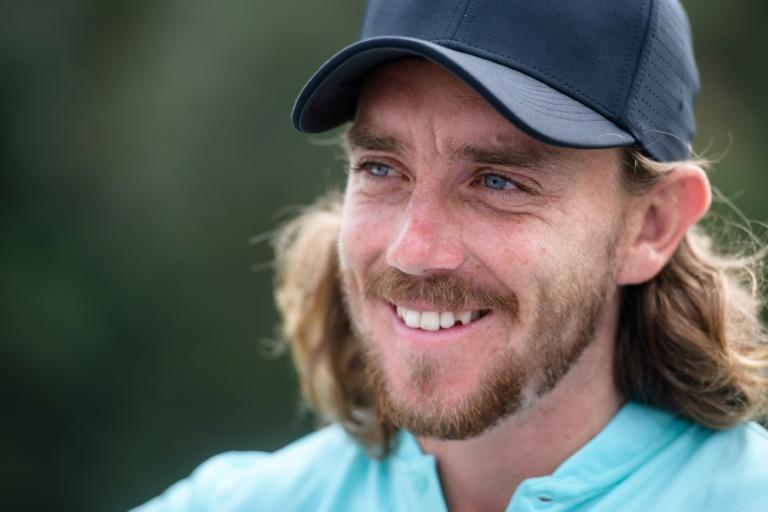 Tommy Fleetwood of England speaks with AFP ahead of the UBS Hong Kong Open tournament, at the Hong Kong Golf Club, on November 22, 2017