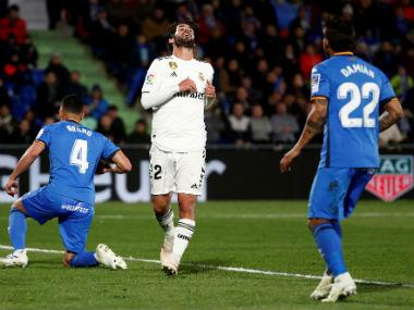 LaLiga: Zinedine Zidane's Real Madrid hit another low as Champions League chasers Getafe manage a goalless draw