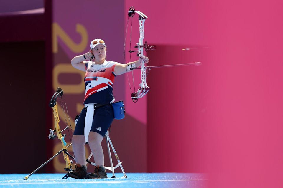 <p>A close victory, Team GB's Phoebe Paterson pine clinched gold by one point in the women's individual compound archery event. </p>