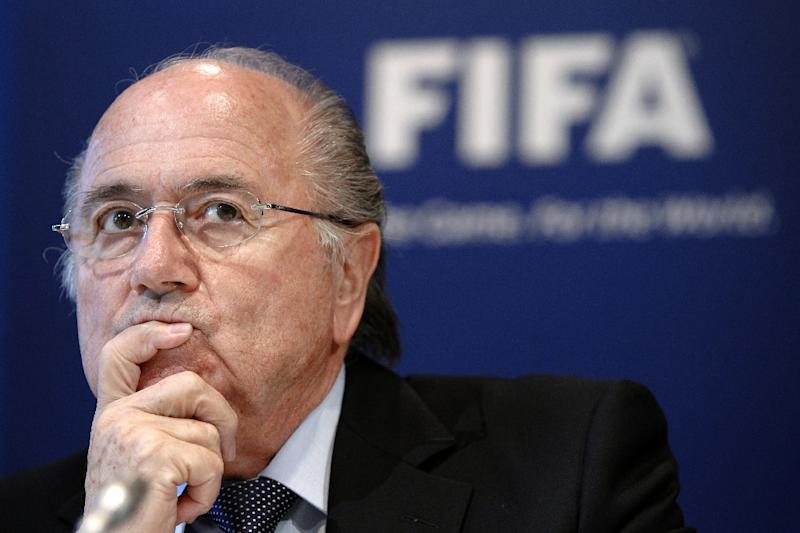 A lawyer for fallen FIFA chief Sepp Blatter confirmed he would launch an appeal against his eight-year ban (AFP Photo/Sebastian Derungs)