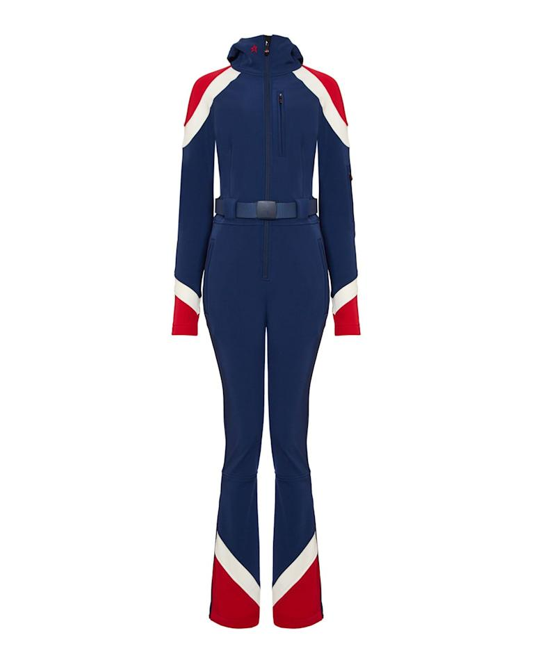 "<p>Ski suit, £700, Perfect Moment</p><p><a class=""body-btn-link"" href=""https://www.perfectmoment.com/womens-allos-ski-suit-navy-snow-white"" target=""_blank"">SHOP NOW </a></p>"