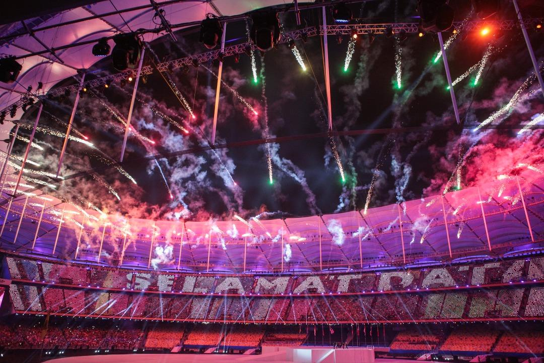 <p>See highlights from the SEA Games 2017 opening ceremony held at the Bukit Jalil National Stadium in Kuala Lumpur on Saturday (19 August). (PHOTO: Fadza Ishak / Yahoo News Singapore) </p>