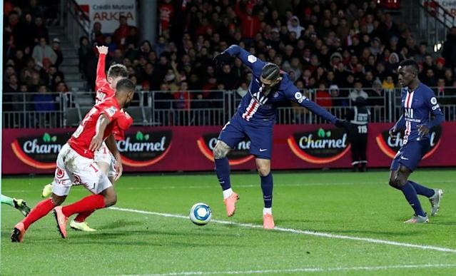 Ligue 1 - Brest v Paris St Germain