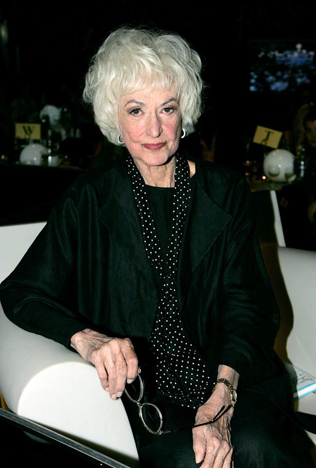 "Husky-voiced Emmy winner Bea Arthur rose to fame as the character Maude Findlay in the '70s sitcoms ""All in the Family"" and ""Maude,"" but made her most lasting impression as Dorothy Zbornak on ""The Golden Girls."" Arthur died of cancer on April 25, shortly before what would've been her 87th birthday. Frank Micelotta/<a href=""http://www.gettyimages.com/"" target=""new"">GettyImages.com</a> - August 7, 2005"