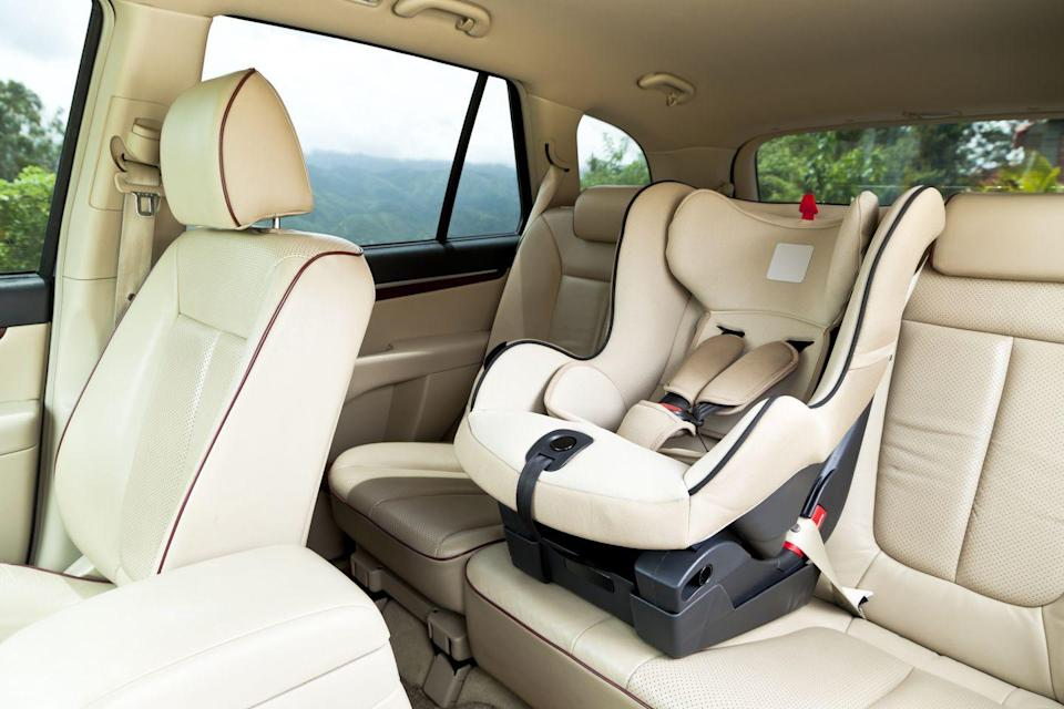 """<p>The <a href=""""https://www.nhtsa.gov/car-seats-and-booster-seats/car-seat-use-after-crash"""" rel=""""nofollow noopener"""" target=""""_blank"""" data-ylk=""""slk:National Highway Traffic Safety Administration recommends"""" class=""""link rapid-noclick-resp"""">National Highway Traffic Safety Administration recommends</a> replacing car seats after an accident, but you never know whether people have followed that advice. That's one of the reasons the <a href=""""https://www.aap.org/en-us/about-the-aap/aap-press-room/aap-press-room-media-center/Pages/Used-Car-Seats.aspx"""" rel=""""nofollow noopener"""" target=""""_blank"""" data-ylk=""""slk:American Academy of Pediatrics has publicly stated"""" class=""""link rapid-noclick-resp"""">American Academy of Pediatrics has publicly stated</a> that car seats shouldn't be bought used. (You also won't know whether it's been recalled.)</p>"""