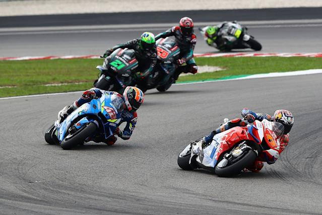 Miller criticises riders after heavy Rins clash