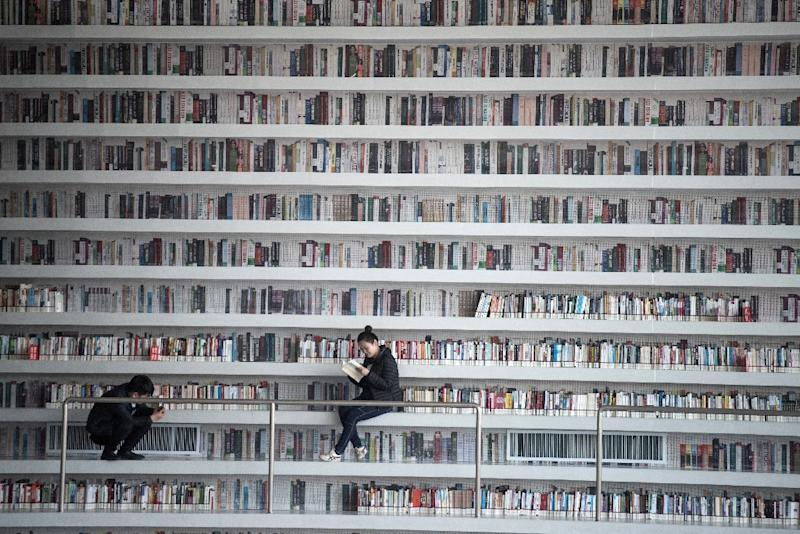 Tianjin Library Sitting