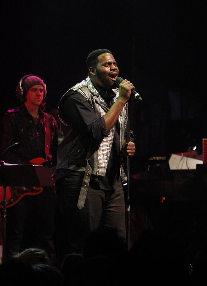 "Trevin Hunte at a special live performance event celebrating the Top 12 artists of ""The Voice"" on November 8, 2012 at the House of Blues in Hollywood, CA."