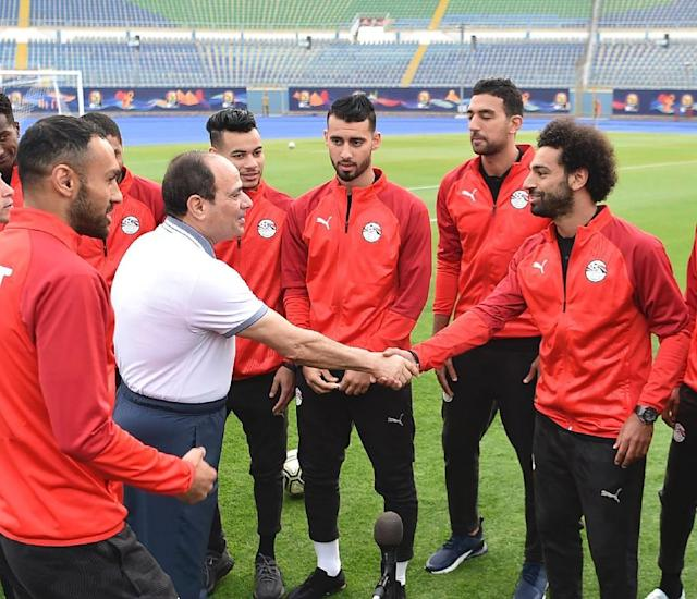 Salah helps Egypt to another Africa Cup warm-up victory