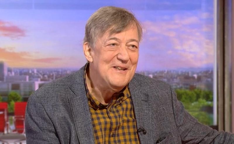 Stephen Fry showed off his drastic weight while appearing on BBC Breakfast on Thursday 22 August (BBC)