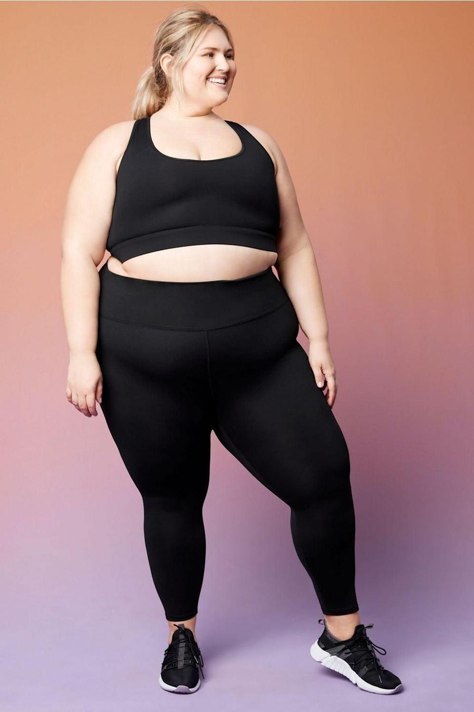 <p>These <span>Fabletics High-Waisted PowerHold 7/8 Leggings</span> ($50, originally $70) are a fan favorite, and once you put them on, you'll see why.</p>