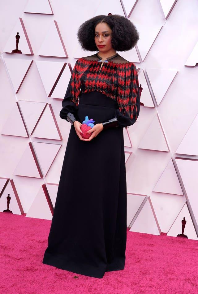 Celeste Waite at the 93rd Academy Awards