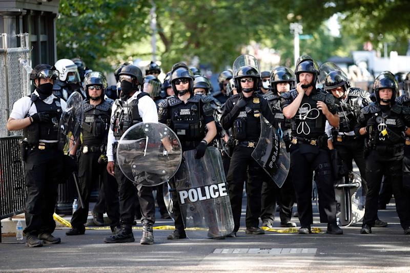 Secret Service says it used pepper spray on Lafayette Square protesters