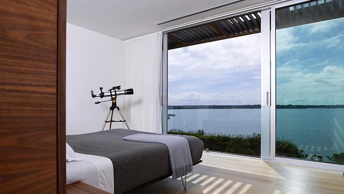 One of the bedrooms. - Credit: Photo: Courtesy of Fred Stelle