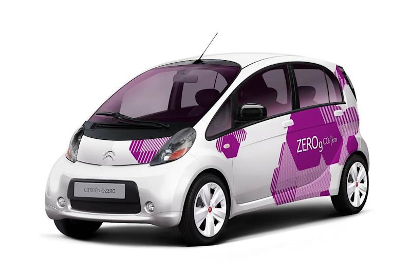 The Citroen C-Zero has been marketed for city driving (Citroen C-Zero)