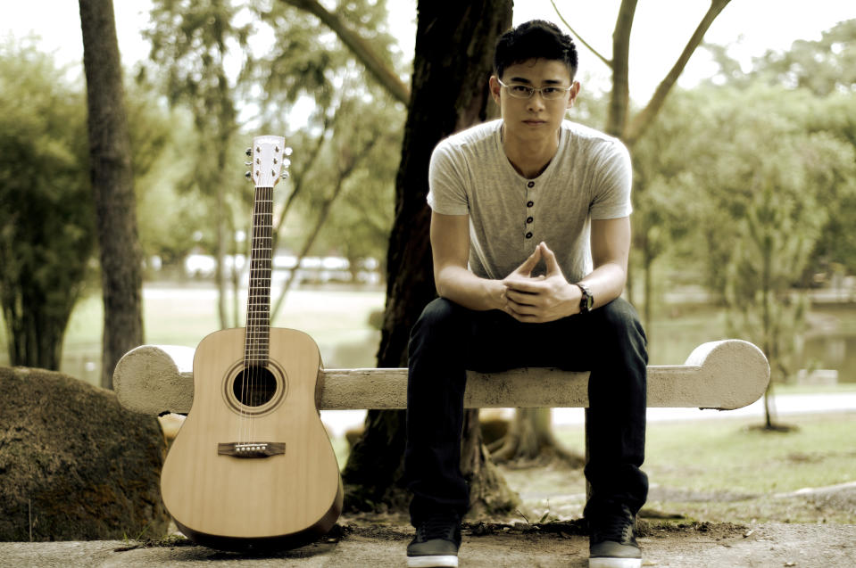 """<b><p>Clarence Liew, 20</p></b> <b><p>Singer-songwriter</p></b> <br> <p>Singer and guitarist Clarence Liew learnt to play the guitar independently by watching """"how-to"""" videos on YouTube, and has never gotten any form of professional training.</p> <br> <p>Clarence's singing talent surfaced after a Teacher's Day performance at 16, where he received an overwhelming amount of positive responses. Clarence has since been approached by popular YouTube artistes, Gabe Bondoc and Jeremy Passion, to collaborate on potential gigs in the region.</p> <br> <p>Clarence is inspired by musicians who play for a charitable cause, one of whom is Jeremy Passion, a renowned YouTube artiste who expresses his part fo charity by collecting stationery and donations in a suitcase while performing - all of which are given to children during his trips to poverty-stricken countries. Clarence wishes to follow his footsteps and contribute to the community by doing what he loves to do - singing from the heart.</p> <br> <p>Some of the highlights in Clarence's music career are """"The YouTube Stars Concert"""", where he performed together with internationally renowned YouTube artistes such as David Choi, Jason Chen, Ana Free and Tiffany Alvord. He has also performed alongside reputable artists such as the YouTube-famed duo, Jayesslee. </p> <br> <p>Clarence is slowly carving his name on the local music industry and has plans to release a single later this year. He is also in talks to produce a full-length album in the near future.</p>"""