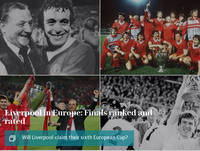 Liverpool in Europe: Finals ranked and rated