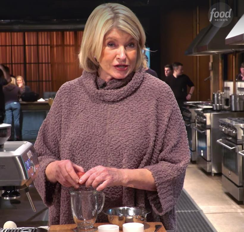 "Martha Stewart has shared a ""fun way"" to cook scrambled eggs. Photo: Facebook/Food Network"