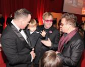"<p>We can only imagine how this may have gone: ""Zachary Jackson Levon Furnish-John, meet Bono. Bono meet Zachary Jackson Levon Furnish-John."" The three-year-old was introduced to U2's lead singer while attending a charity gala in a tuxedo, no less. </p>"